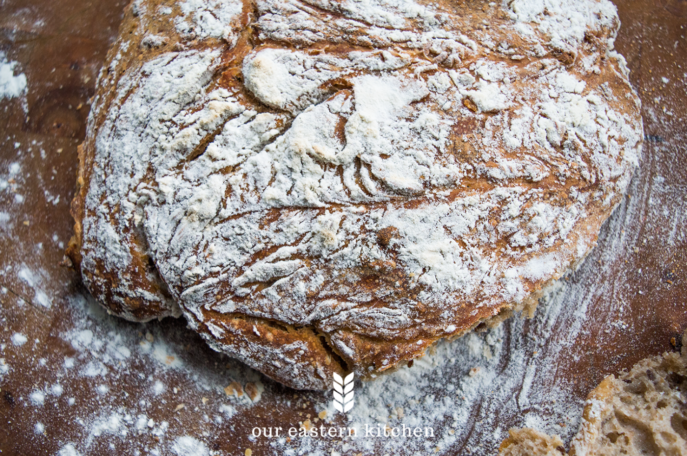 Our Eastern Kitchen - Easy Sourdough Bread - Recipe - Food Photography