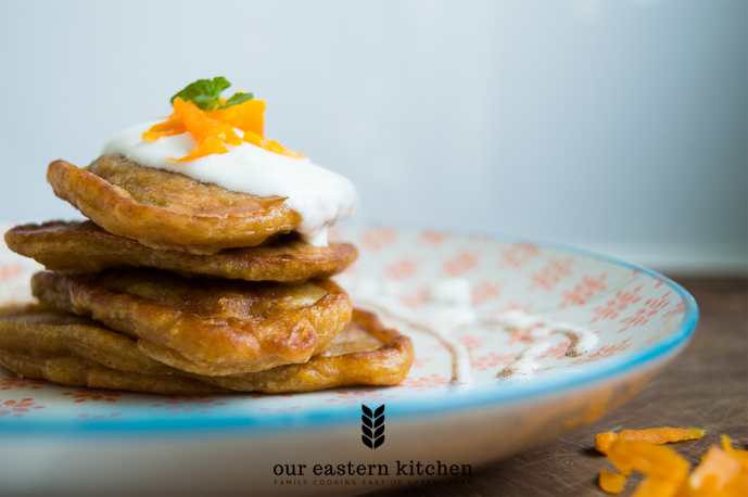 Our Eastern Kitchen - Easy Pumpkin Pancakes - Recipe - Food Photography