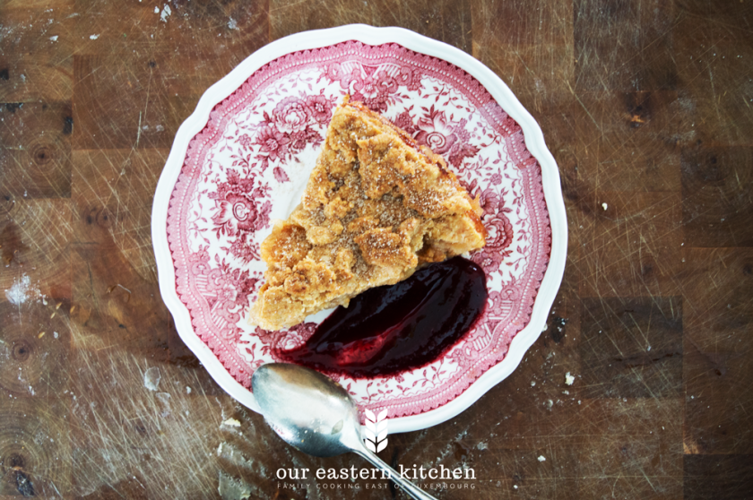 Our Eastern Kitchen - Traditional Polish Apple Pie - Recipe - Food Photography