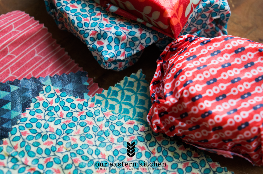 Our Eastern Kitchen - Beeswax Food Wraps Covers - Recipe - Food Photography