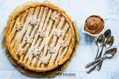 Our Eastern Kitchen - Delicious Apple Pie with Banana and Cardamom - Recipe - Food Photography