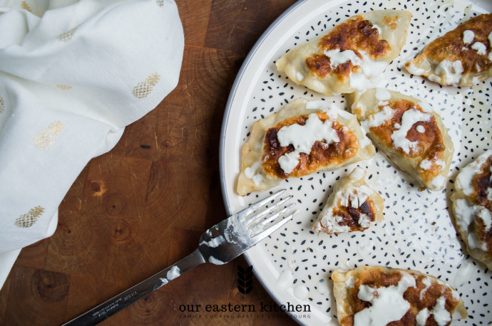 Our Eastern Kitchen - Pierogi with Green Lentils - Recipe - Food Photography