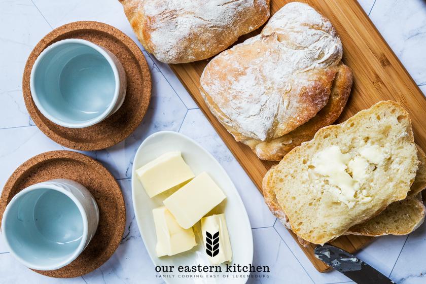 Our Eastern Kitchen - Delicate Crispy Breakfast Rolls - Recipe - Food Photography